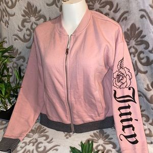 Juicy couture varsity style sweater